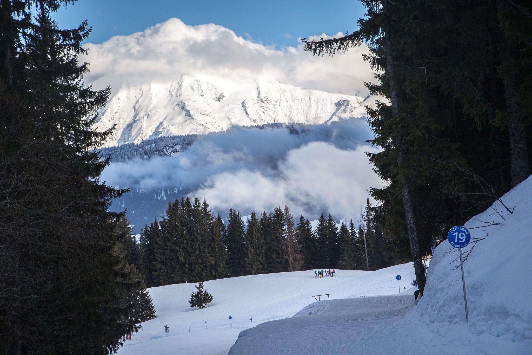 Afterwork Alpinist 2018 - Combloux-sur fond de Mont Blanc