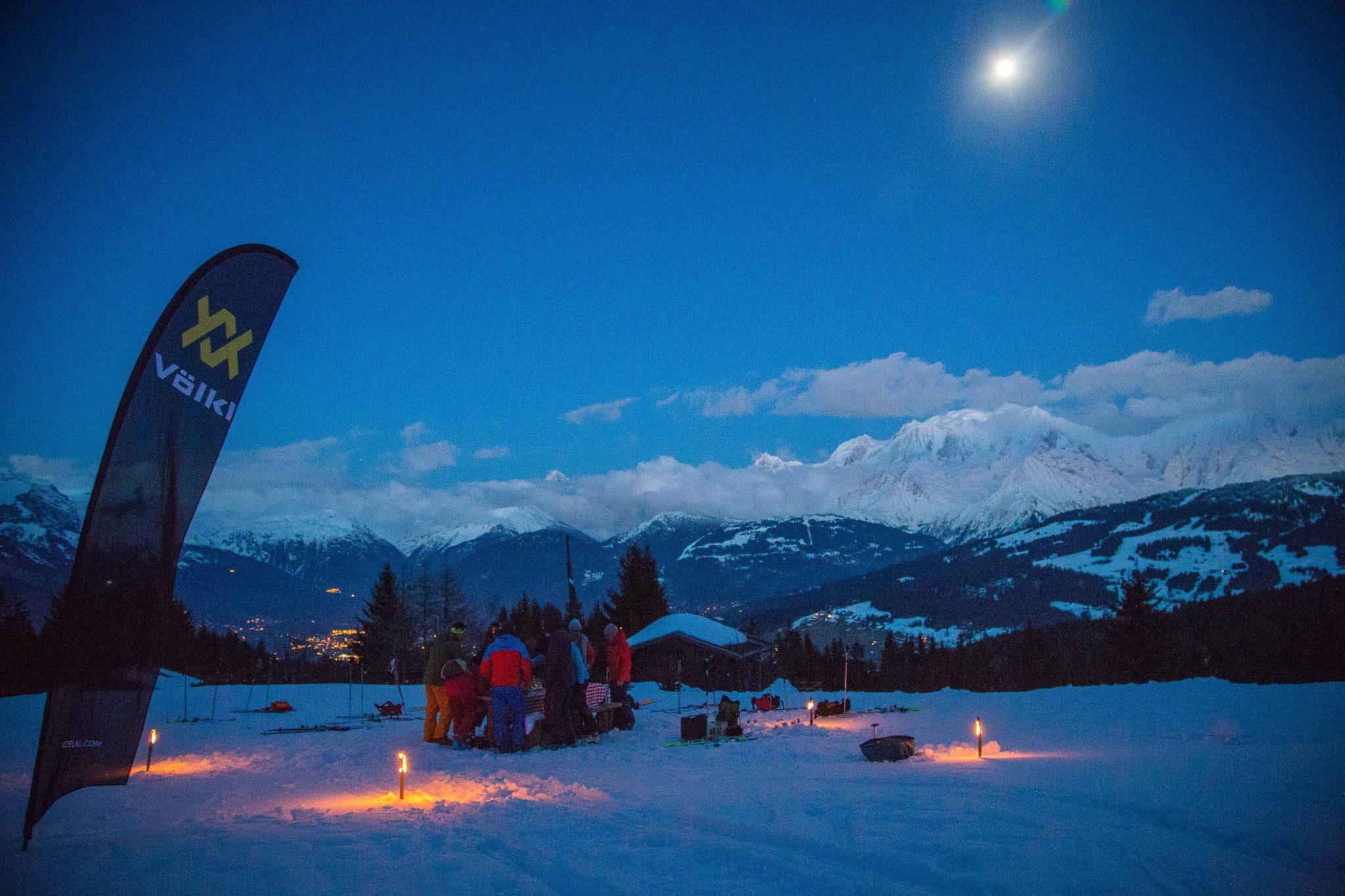Afterwork Alpinist 2018 - Combloux-Full Moon