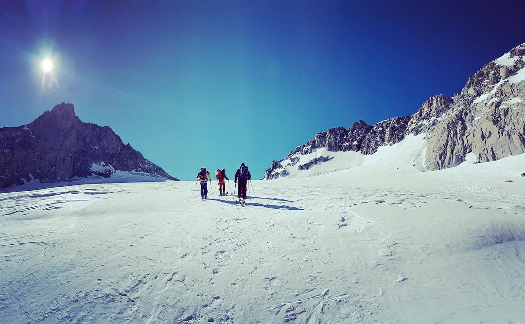 Mountain combo à Chamonix - Ski de Rando - by Wagon Blanc