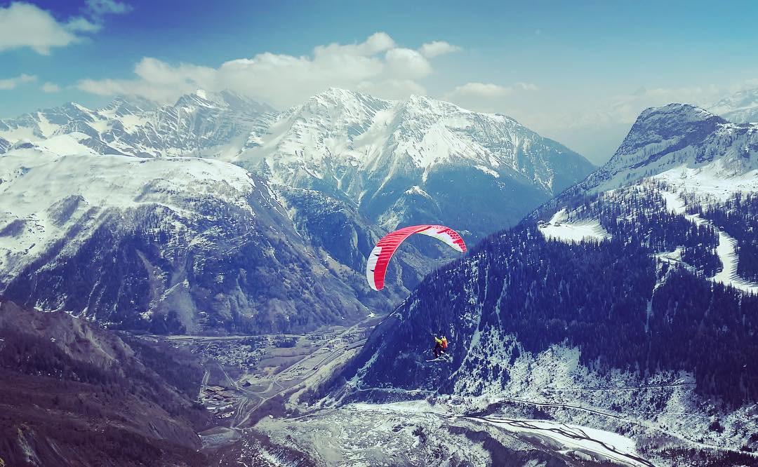 Mountain combo à Chamonix - Parapente - by Wagon Blanc