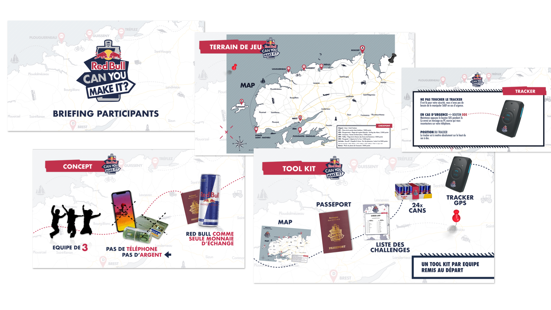 Red Bull Can You Make It - Bretagne - KOCC19 - Wagon Blanc